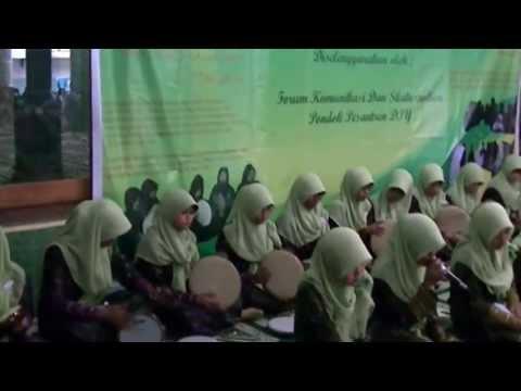Tsamrotul Hidayah : Hayati Kulluha Lillah (di Ponpes Al-qodir, Yogyakarta) video