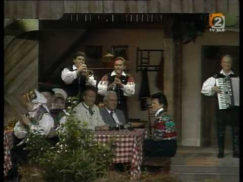 ANSAMBEL BRATOV AVSENIK - Na Golici ( trompetenecho )