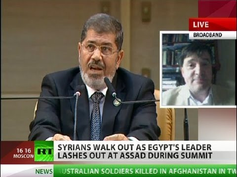 'Morsi slams Assad at NAM summit at US bidding'