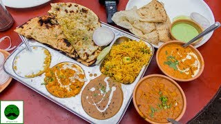 Desi Dhaba Ka Khana Butter aur Cream Bhar ke Street Food Of India in Delhi