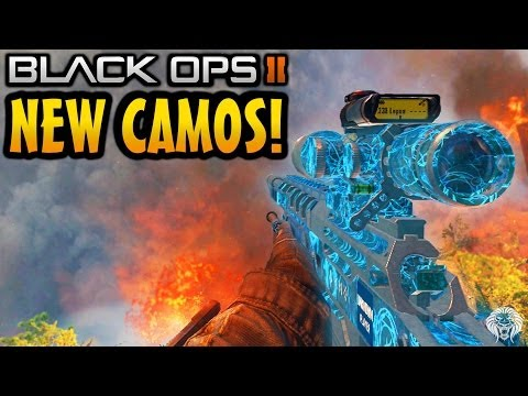 Black Ops 2: All 4 New Camos! Afterlife Camo. Paladin. Comics & UK Punk Pack (BO2 DLC Gameplay)