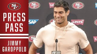 Jimmy Garoppolo on Beating the Browns | 49ers