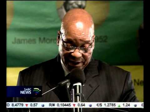 President Jacob Zuma had strong words on the mining industry