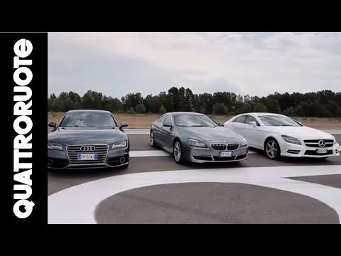 Lusso: BMW vs Mercedes vs Audi - La sfida di Quattroruote