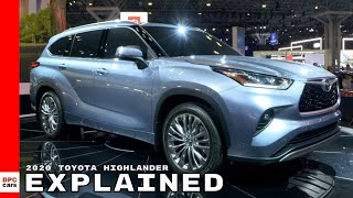 2020 Toyota Highlander Hybrid Explained