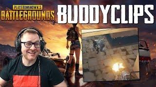 PUBG - Wie lustig ist der TYP denn :D ! Buddyclips Twitch Stream Highlight Gameplay German Deutsch