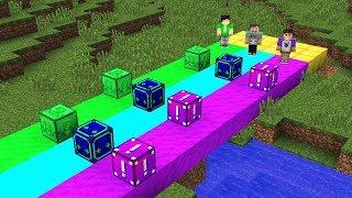 Download Lagu THE PALS RAINBOW LUCKY BLOCK RACE! (Denis vs. Alex Minecraft) Gratis STAFABAND