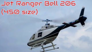 Scale RC Helicopter - Jet Ranger Bell 206 (450 size)
