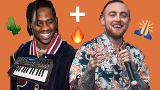 Travis Scott pays Tribute to Mac Miller BUT ITS A BEAUTIFUL BANGER