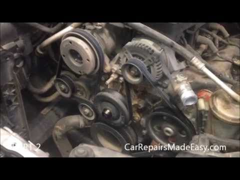 Dodge Durango Water Pump Replacement Part 2