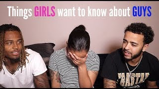 Men Answer Questions Women Are Too Afraid To Ask!! | Crissy Danielle