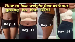 HOW I LOST 20 POUNDS IN 2 WEEKS WITHOUT WORKING OUT | IF | ADF | ACV |