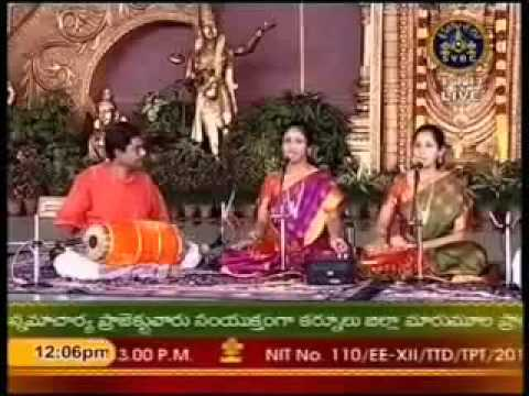 Chinmaya Sisters - smara vaaram vaaram - Jog - Sadashiva Brahmendra...