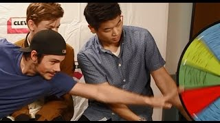 Scorch Trials Cast Plays Wheel of Dares - Comic Con 2015