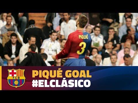 Best Goal   El Clásico 2009   Gerard Piqué