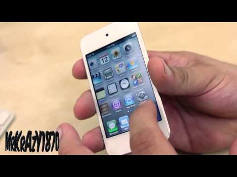 Brand New White Apple iPod Touch 4G Unboxing/ Hands On