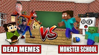 MONSTER SCHOOL VS DEAD MEME - Minecraft Animation