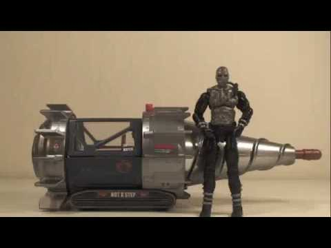 GI Joe Rise of Cobra Movie Mole Pod With Terra-Viper Vehicle Toy Review