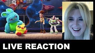 Toy Story 4 Trailer 2 REACTION