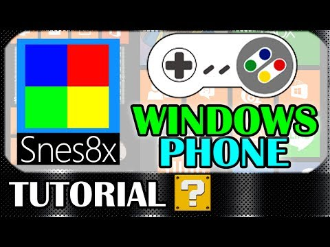 Emulador de SNES para Windows Phone