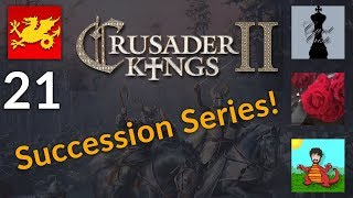 CK2 Holy Fury Succession Series w/ Cristo, Aldra and Rose! [21]