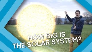 How BIG Is Our Solar System? | Earth Lab