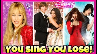 Download Lagu Try Not To Sing Disney Channel Movies Challenge | Descendants 2 You Sing You Lose 2017 Gratis STAFABAND