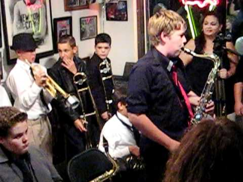 Gator Jazz Band (Allapattah Flats K-8 School) - Blue Seven - Live at Sixty Sundaes