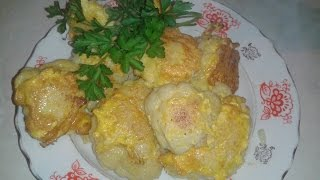цветная капуста в яйце Самый простой рецепт