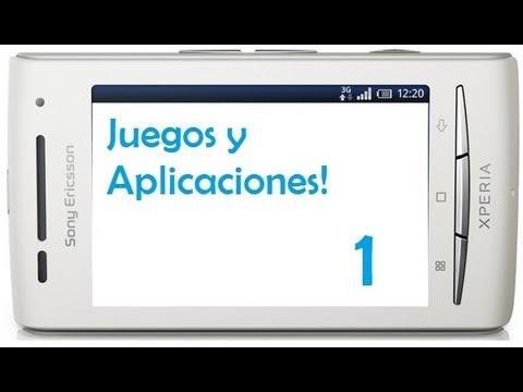 Juegos y aplicaciones para tu xperia x8 - Nº1