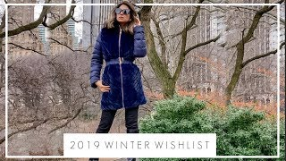 2019 WINTER FASHION WISH LIST   New In High street/Designer Fashion & Styling Ideas    JASMINA PURI