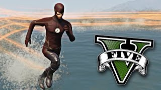 GTA V PC MODS: FLASH EN GTA 5 WTF !!
