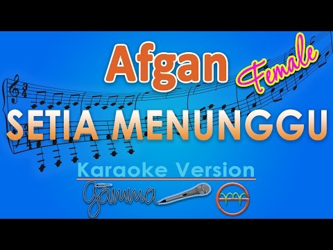 download lagu Afgan - Setia Menunggu FEMALE Karaoke  Chord By G gratis