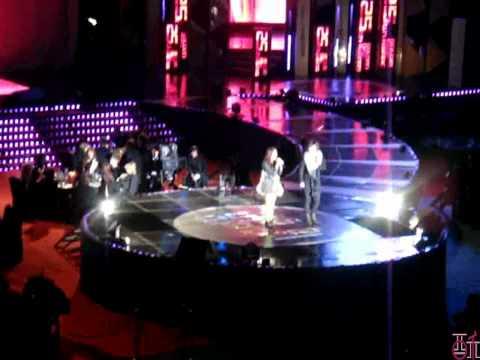 101209 IU - Nagging (with Jo Moon Geun) @ 2010 25th Golden Disk Awards (FanCam)