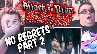 Attack on Titan No Regrets OVA Part 2 REACTION!!!