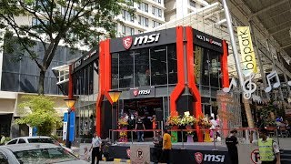 The MSI Concept Store KL: Biggest in the World
