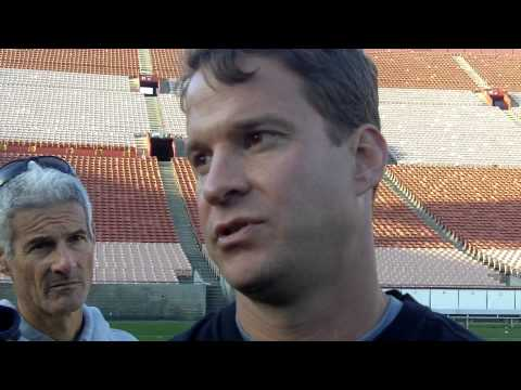 USC Football 2013 Spring Practice #3 - Lane Kiffin Presser