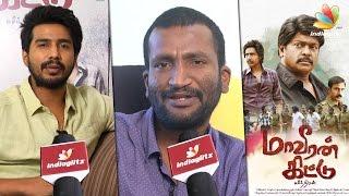 Parthiban has equal role as hero Vishnu Vishal : Suseenthiran Interview | Maveeran Kittu