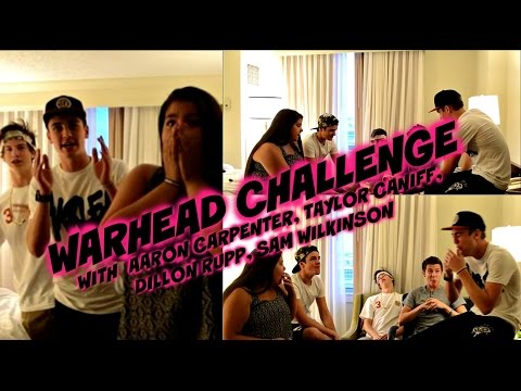 Warhead Challenge|Kelly Phillips,Aaron Carpenter,Taylor Caniff,Sammy Wilkinson,Dillon Rupp