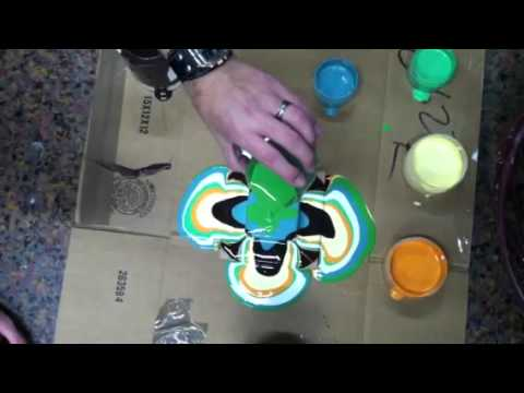 What Is Acrylic Paint Pouring