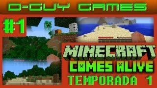 MINECRAFT COMES ALIVE #1 - Com download da pasta .minecraft 1.4.5 com o mod