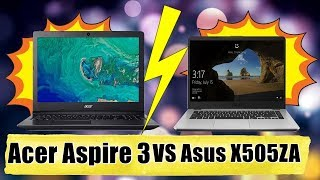 Acer Aspire 3 VS Asus Vivobook 15 x505za  - Which is the Best Laptop around 35000 in India?