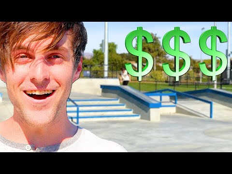 MOST EXPENSIVE SKATE PARK IN THE BAY AREA!