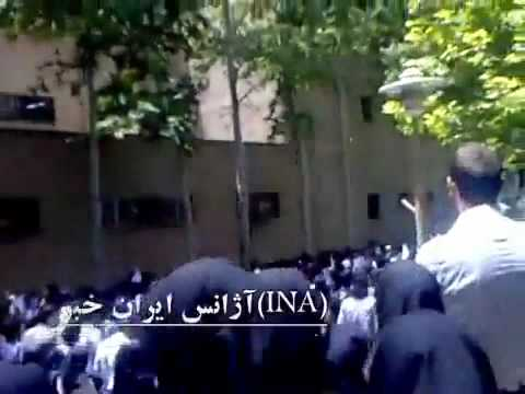 Memorial of post-election victim Kianoosh Asa - Iran Tehran 1 June 2010 P1