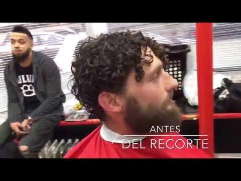 COMO HACER UN FADE POR NIVELES Y AFEITAR BARBA/JEFF THE MASTER BARBER TUTORIAL ESPAÑOL