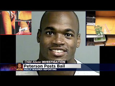 Adrian Peterson's Child Abuse Indictment #vikings