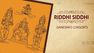 Riddhi-Siddhi - Ganesha