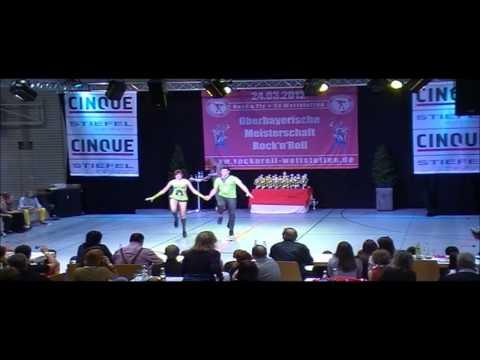 Kristina Wagner & Markus Langer - Oberbayerische Meisterschaft 2012