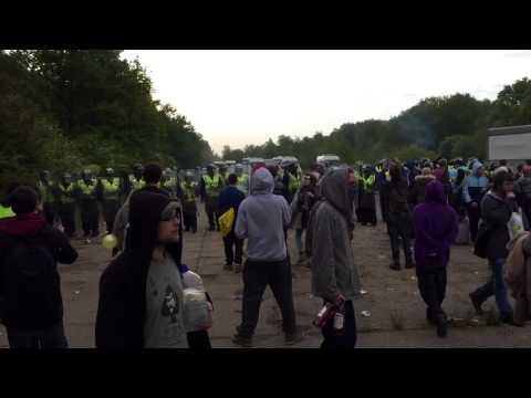 Police brutality UK tek 2015 May bank holiday