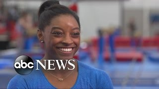 Gymnast Simone Biles Aims to Make Olympic History